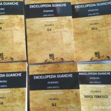 Libros: LOTE DE ENCICLOPEDIAS ABORIGENES CANARIOS. Lote 290637268
