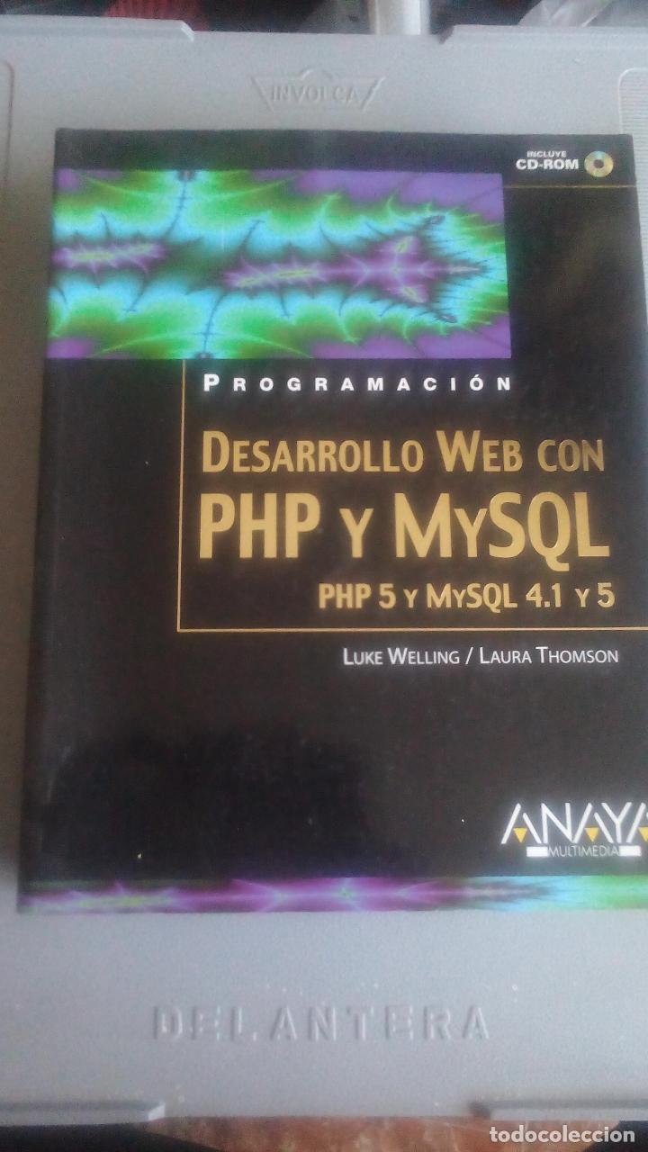 PROGRAMACION DESARROLLO WEX CON PHP Y MYSQL - ANAYA MULTIMEDIA (Libros Nuevos - Ocio - Informática - Diseño)