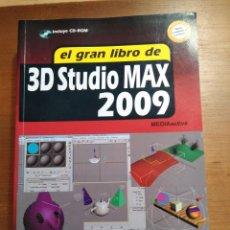 Libros: EL GRAN LIBRO DE 3D ESTUDIO MAX, 2009. EDITORIAL MARCOMBO. EDICIÓN RÚSTICA, 812 PAGINAS.. Lote 112706954