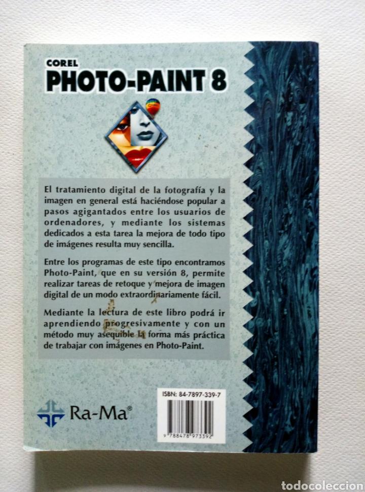 Libros: Corel photo Paint 8. Francisco pascual. Ed. Ra Ma - Foto 2 - 170538577