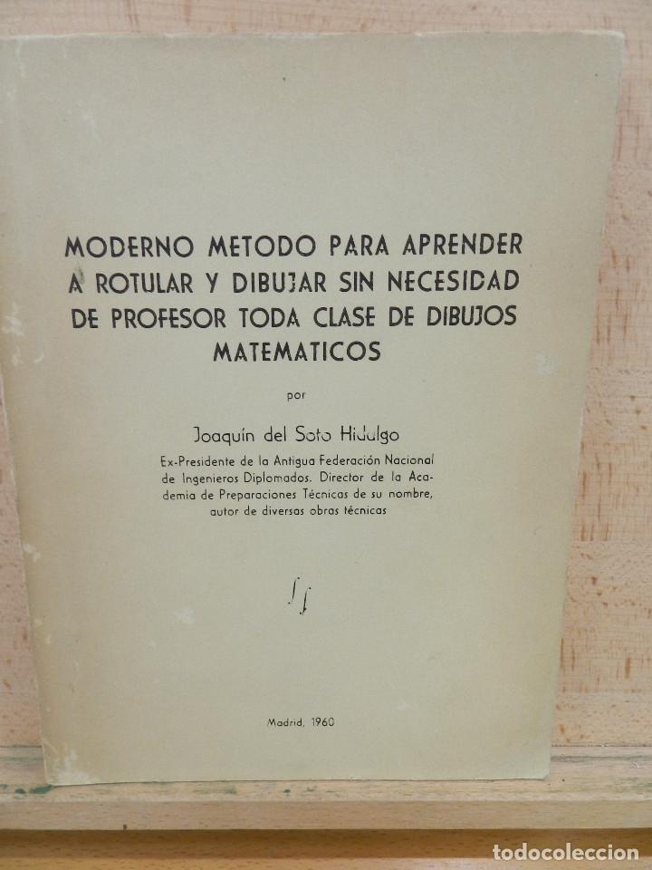 MÉTODO DE ROTULACIÓN Y DIBUJO (Libros Nuevos - Ocio - Informática - Diseño)