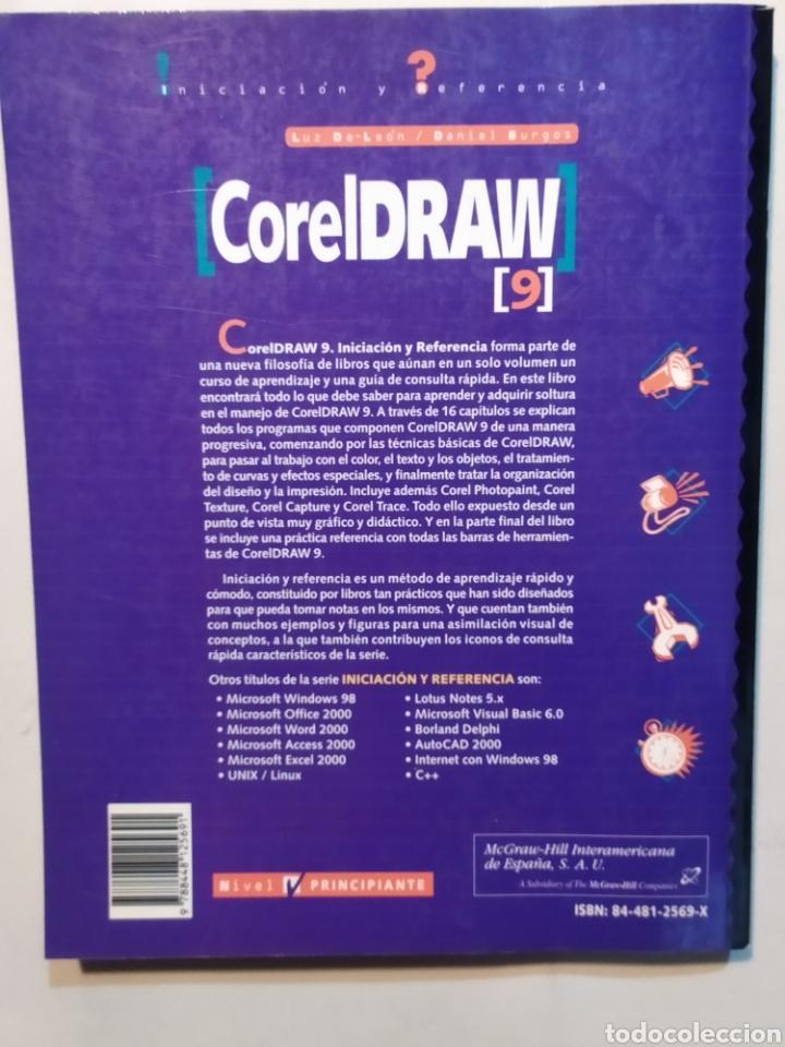 Libros: Coreldraw 9. Iniciación y referencia. Mac Graw Hill. - Foto 3 - 204095003