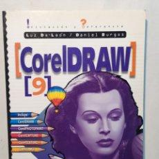 Libros: CORELDRAW 9. INICIACIÓN Y REFERENCIA. MAC GRAW HILL.. Lote 204095003