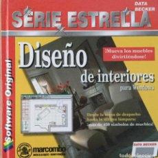 Libros: DISEÑO DE INTERIORES PARA WINDOWS. MARCOMBO. NUEVO. Lote 222054496