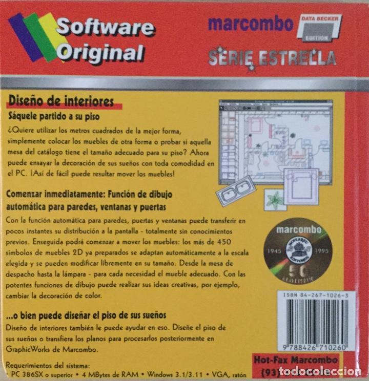 Libros: Diseño de interiores para Windows. Marcombo. NUEVO - Foto 2 - 222054496