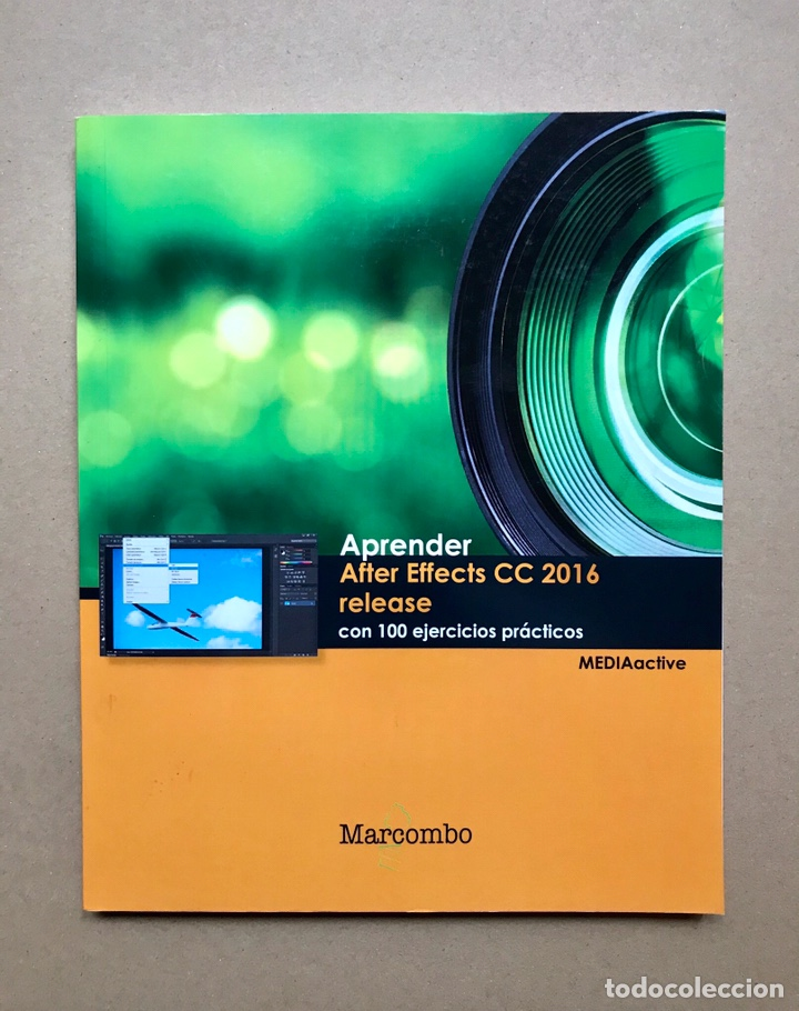 Libros: Aprender After Effects CC 2016 release con 100 ejercicios prácticos - MediaActive - Marcombo - Foto 1 - 223215338