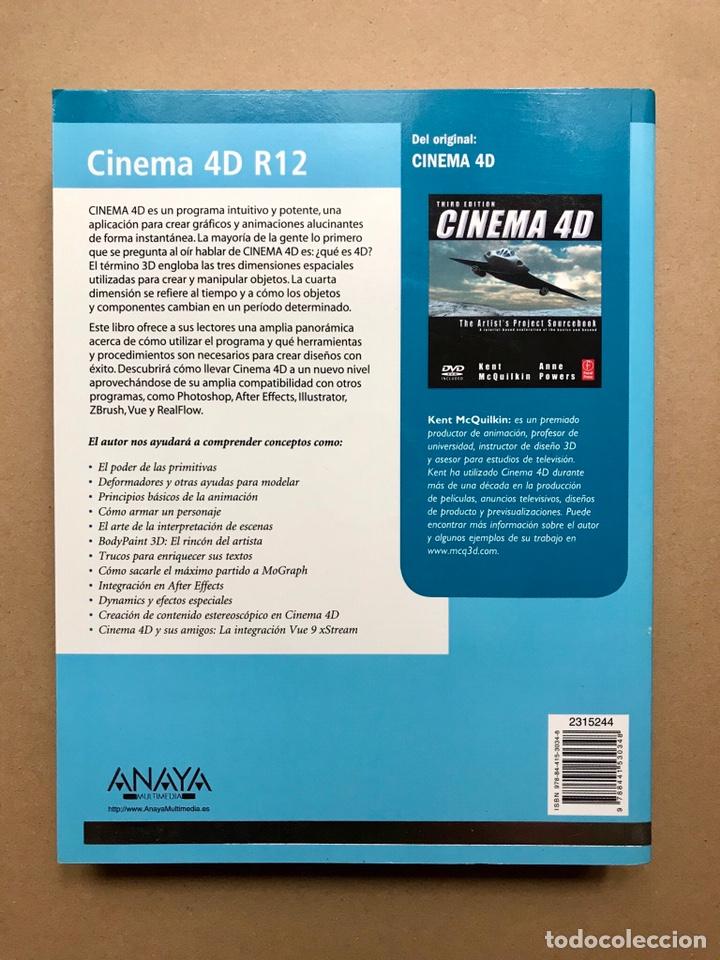 Libros: Cinema 4D R12 (incluye CD) - Anaya Multimedia - DESCATALOGADO (nuevo) - Foto 2 - 223216333
