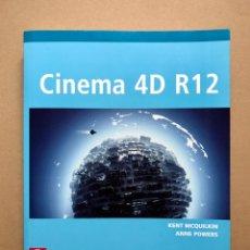 Libros: CINEMA 4D R12 (INCLUYE CD) - ANAYA MULTIMEDIA - DESCATALOGADO (NUEVO). Lote 223216333