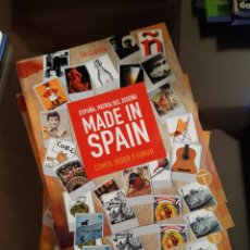 Libros: MADE IN SPAIN. ESPAÑA, PATRIA DEL DISEÑO. 5 VOLÚMENES - CAPELLA, JULI. Lote 239980375
