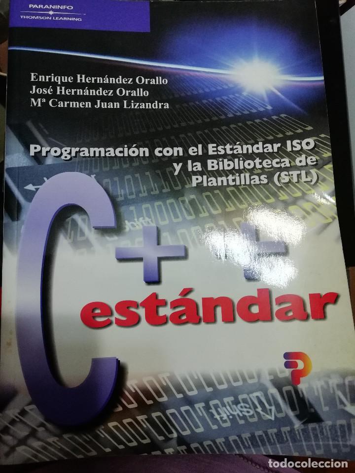 C++ ESTANDAR (Libros Nuevos - Ocio - Informática - Diseño)
