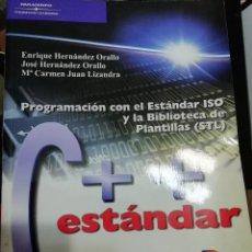 Libros: C++ ESTANDAR. Lote 254304265