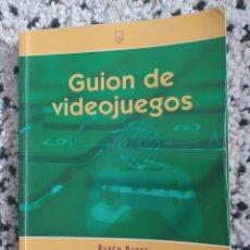 Libros: LIBRO GUIÓN DE VIDEOJUEGOS. Lote 260561035