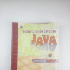Libros: ESTRUCTURAS DE DATOS EN JAVA MARK ALLEN WEISS. Lote 263186825