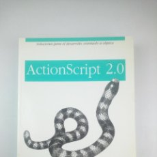 Libros: ACTIONSCRIPT 2.0 ANAYA. Lote 263187140