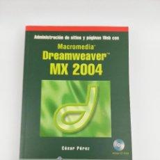 Libros: DREAMWEAVER MX 2004 RA-MA. Lote 269295883