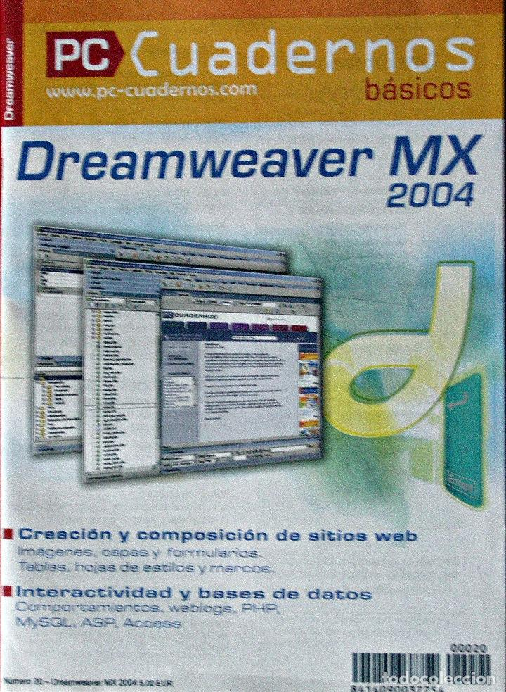 DREAMWEAVER MX - PC CUADERNOS BÁSICOS (Libros Nuevos - Ocio - Informática - Informática práctica)