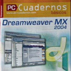 Libros: DREAMWEAVER MX - PC CUADERNOS BÁSICOS. Lote 67386893