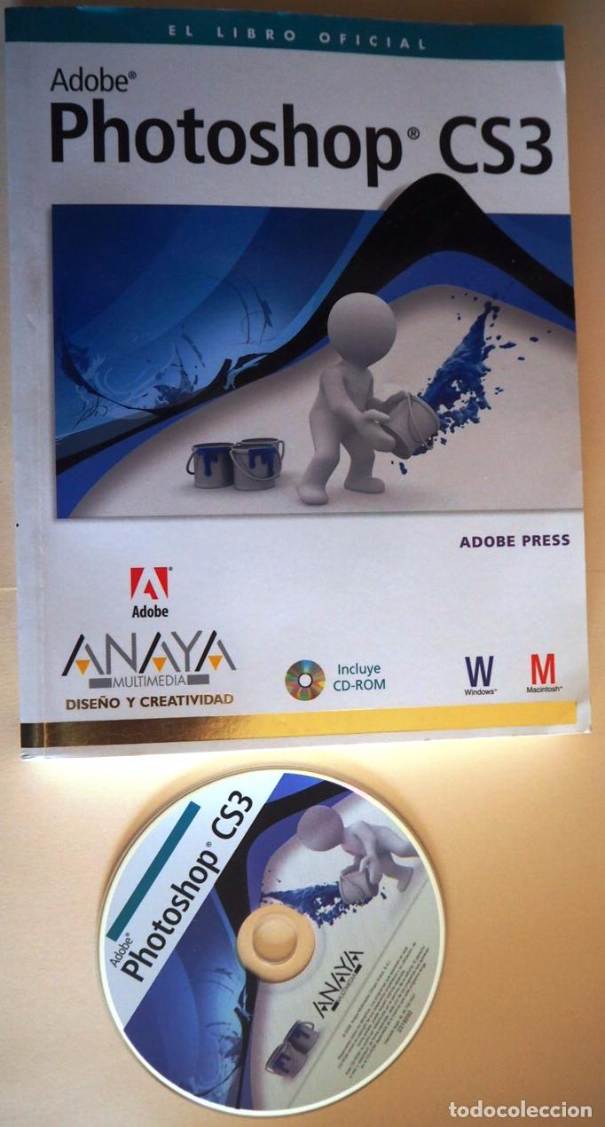 Libros: ADOBE PHOTOSHOP CS3 (libro + CDrom) - Foto 1 - 100387451