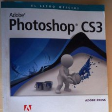 Libros: ADOBE PHOTOSHOP CS3 (LIBRO + CDROM). Lote 100387451