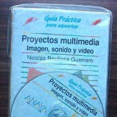 Livres: PROYECTOS MULTIMEDIA: IMAGEN, SONIDO Y VIDEO. NICOLAS BOULLOSA GUERRERO. Lote 148257242
