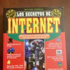 Libros: LOS SECRETOS DE INTERNET. CON DISQUETE. ANAYA.. Lote 148819470