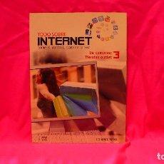Libros: COMPACT DISC, TODO SOBRE INTERNET, Nº 3 DE COMPRAS TIENDAS OUTLET.. Lote 150156406