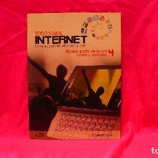 Libros: COMPACT DISC, TODO SOBRE INTERNET, Nº 4 MÚSICA GRATIS EN LA RED (SPOTIFY Y ROCKOLA FM).. Lote 150156818