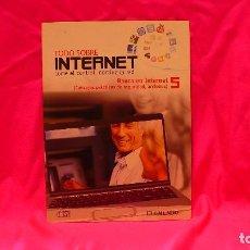 Libros: COMPACT DISC, TODO SOBRE INTERNET, Nº 5 BANCA EN INTERNET, CONSEJOS PRÁCTICOS DE SEGURIDAD, ACCIONES. Lote 150157430