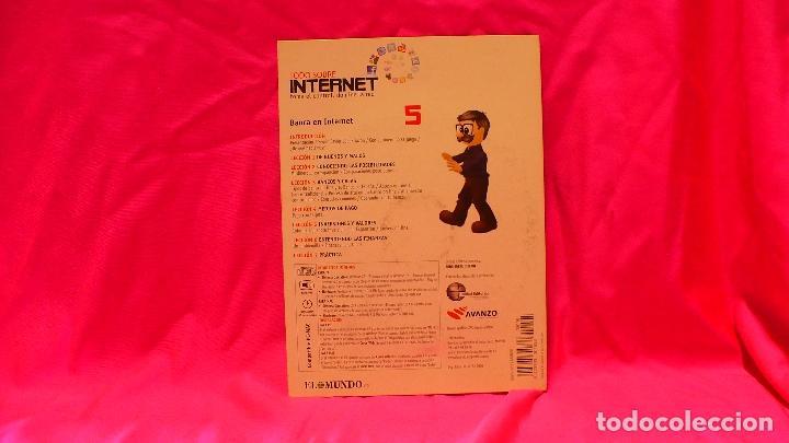 Libros: compact disc, todo sobre internet, nº 5 banca en internet, consejos prácticos de seguridad, acciones - Foto 2 - 150157430