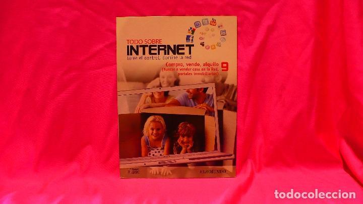 COMPACT DISC, TODO SOBRE INTERNET, Nº 9, COMPRO VENDO ALQUILO. (Libros Nuevos - Ocio - Informática - Informática práctica)