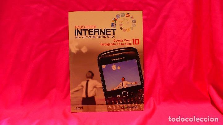 COMPACT DISC, TODO SOBRE INTERNET, Nº 10 GOOGLE DOCS TRABAJANDO EN LA NUBE. (Libros Nuevos - Ocio - Informática - Informática práctica)