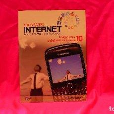 Libros: COMPACT DISC, TODO SOBRE INTERNET, Nº 10 GOOGLE DOCS TRABAJANDO EN LA NUBE.. Lote 150160406