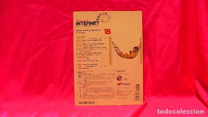 Libros: compact disc, todo sobre internet, nº 16, buscar vuelos y vacaciones en la red. - Foto 2 - 150160706