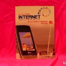 Libros: COMPACT DISC, TODO SOBRE INTERNET, Nº 16, BUSCAR VUELOS Y VACACIONES EN LA RED.. Lote 150160782