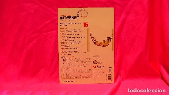 Libros: compact disc, todo sobre internet, nº 16, buscar vuelos y vacaciones en la red. - Foto 2 - 150160782