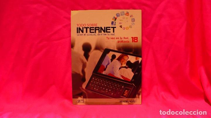 COMPACT DISC, TODO SOBRE INTERNET, Nº 18, TU VOZ EN LA RED, PODCAST. (Libros Nuevos - Ocio - Informática - Informática práctica)