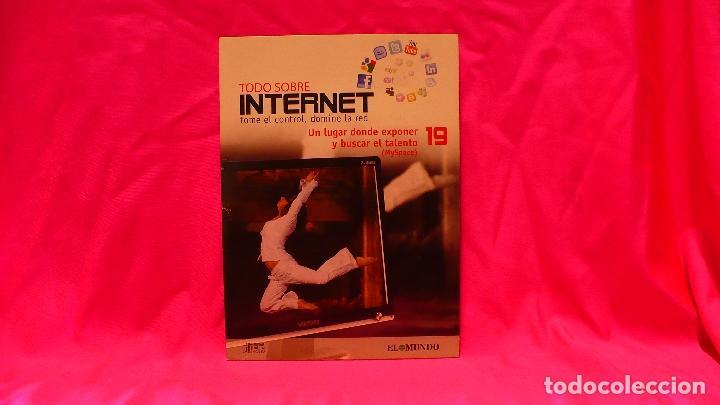 COMPACT DISC, TODO SOBRE INTERNET, Nº 19, UN LUGAR DONDE EXPONERNY BUSCAR EL TALENTO. (Libros Nuevos - Ocio - Informática - Informática práctica)