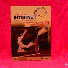Libros: COMPACT DISC, TODO SOBRE INTERNET, Nº 19, UN LUGAR DONDE EXPONERNY BUSCAR EL TALENTO.. Lote 150161122
