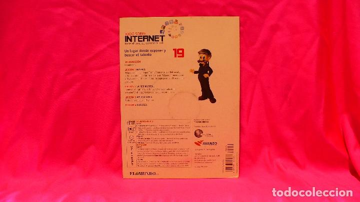 Libros: compact disc, todo sobre internet, nº 19, un lugar donde exponerny buscar el talento. - Foto 2 - 150161122