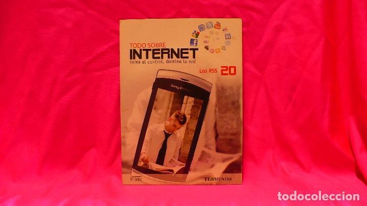 COMPACT DISC, TODO SOBRE INTERNET, Nº 20., LOS RSS (Libros Nuevos - Ocio - Informática - Informática práctica)