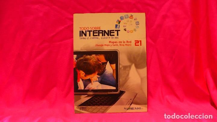 COMPACT DISC, TODO SOBRE INTERNET, Nº 21, MAPAS EN LA RED. (Libros Nuevos - Ocio - Informática - Informática práctica)