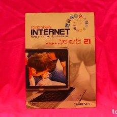 Libros: COMPACT DISC, TODO SOBRE INTERNET, Nº 21, MAPAS EN LA RED.. Lote 150161386