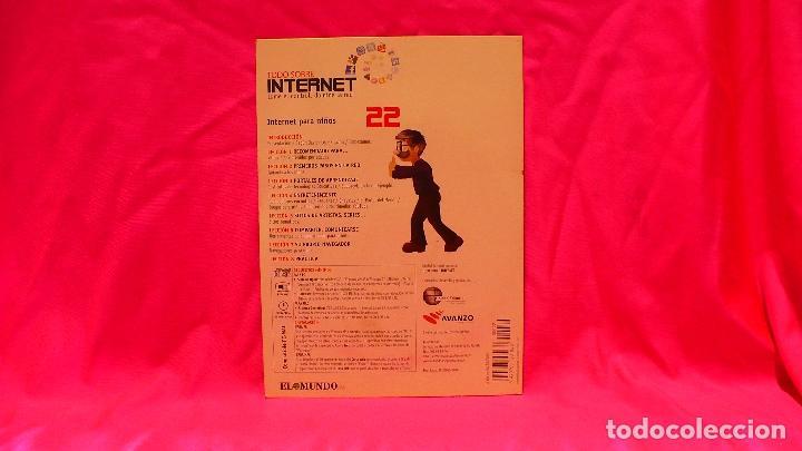 Libros: compact disc, todo sobre internet, nº 22, internet para niños. - Foto 2 - 150161698