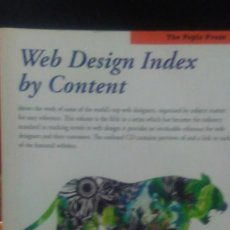 Libros: WEB DESING INDEX BY CONTENT .05 PEPIN PRESS. Lote 168096648