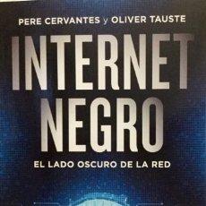 Libros: INTERNET NEGRO. NUEVO REF: AX310. Lote 173803109