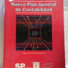 Libros: 12543 - NUEVO PLAN GENERAL DE CONTABILIDAD - SOFTWARE DE GESTION - SP EDITORES - AÑO 1990. Lote 195372688
