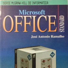 Libros: MICROSOFT OFFICE STANDARD. MCGRAWHILL. SIN USAR. REF. AX 516. Lote 197664641