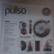 Libros: REVISTA PULSO. TENDENCIAS TIC PARA LIDERAR. BIG DATA. LEARNING EXPERIENCE.. Lote 203307345