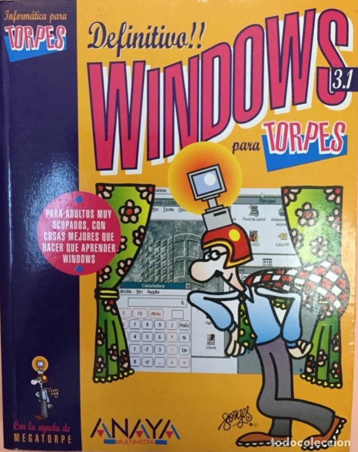 WINDOWS PARA TORPES. DISEÑOS DE FORGES. NUEVO (Libros Nuevos - Ocio - Informática - Informática práctica)