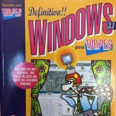 Libros: WINDOWS PARA TORPES. DISEÑOS DE FORGES. NUEVO. Lote 251522005